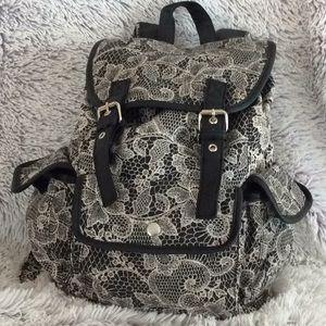 Candie's school backpack floral design